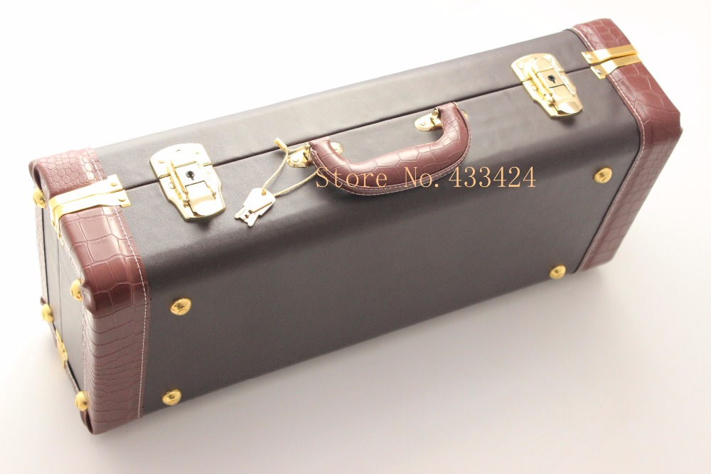 BACH STRADIVARIUS Bb TRUMPET hard LEATHER CASE Instrument Bags & Cases trumpet bb bach trumpet for sale lt180s to 37 instrument b surface silver plating exquisite design durable wholesale 2016 new