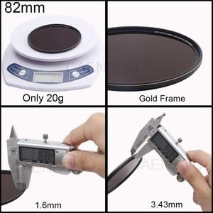 Image 2 - Camera Filter Optical Glass ND1000 Neutral Density 67mm 72mm 77mm 82mm For Canon EOS Nikon Sony SLR Digital Camera Lens Filtro