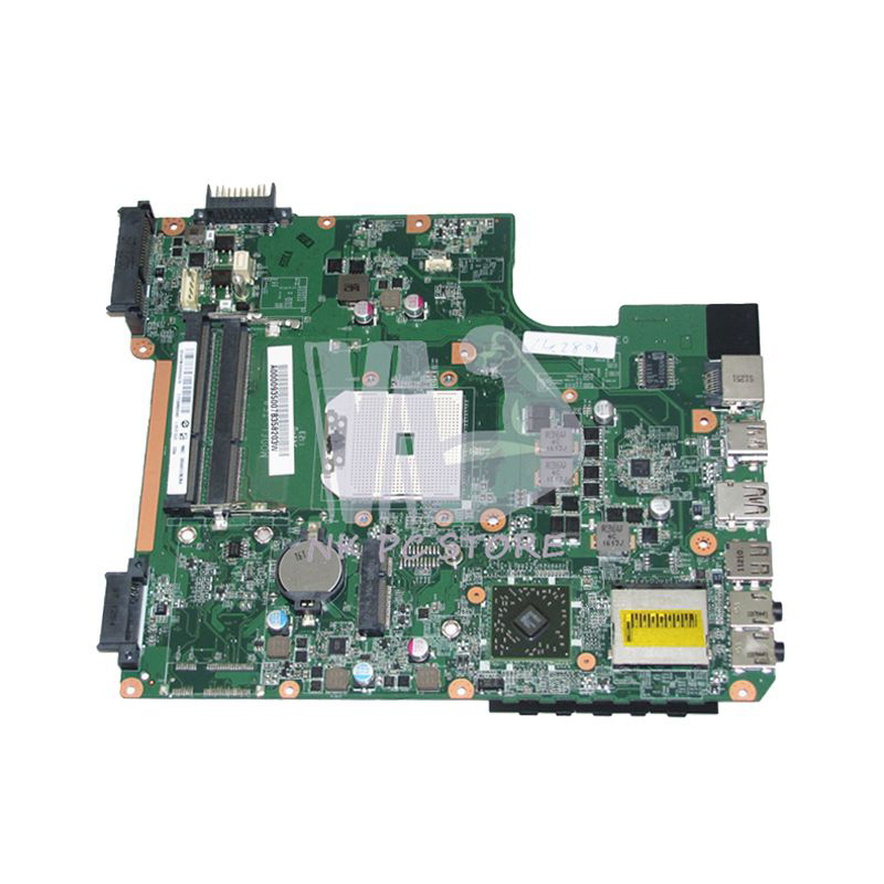 NOKOTION A000093500 DA0TE8MB6E0 Main Board For Toshiba Satellite L745 L745D Laptop Motherboard DDR3 Socket Fs1