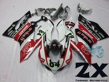 Complete Fairings For DUCATI 1199 1199S 899 Plastic Kit Injection Motorcycle FairingS