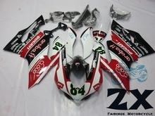 Выполните Обтекатели для Ducati 1199 1199 S 899 Пластик впрыска комплект мотоциклов Обтекатели