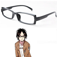 Attack On Titan Hans Zoe Glasses Hanji Cosplay Eyewear Accessories