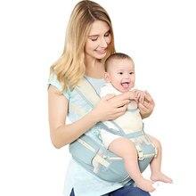 Portátil Saco de Malha Respirável Portador de Bebê Do Estilingue Ergonômico Mochila Hipseat Portador de bebê para Recém-nascidos Evitar O-Pernas tipo de Portador de Bebê