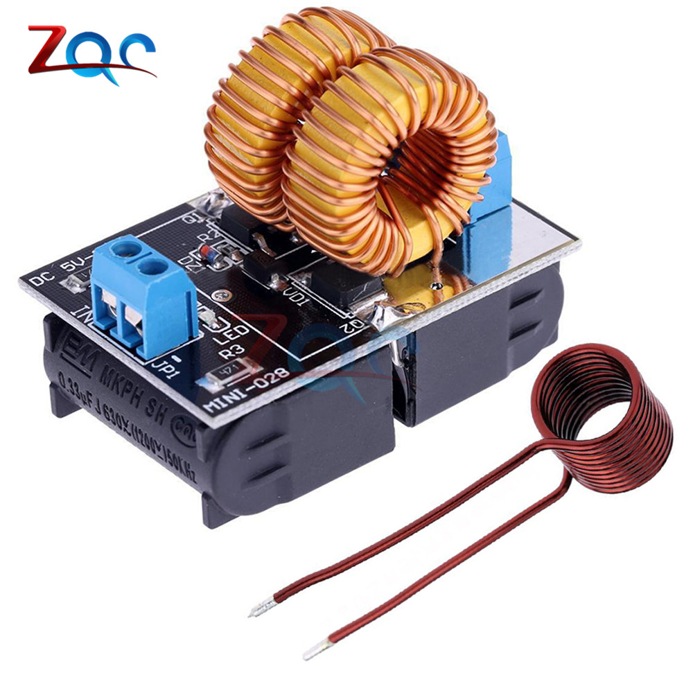 цена на DC 5-12V Mini ZVS Low Voltage Induction Heating Power Supply Module Induction Heating board for induction Heating with Coil