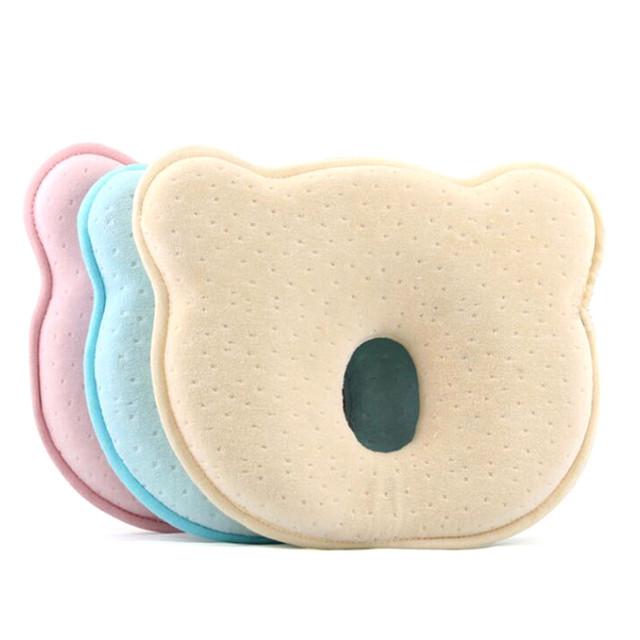 Saco de dormir Bebê Recém-nascido Do Bebê Travesseiro Macio Almofada Dormir Suporte Pillow Prevent Cabeça Chata