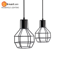 Free shipping American Loft Vintage Lamps Personality Balcony Wrought Iron Pendant Lights,Vintage Edison Pendant Lamps(DF-60)