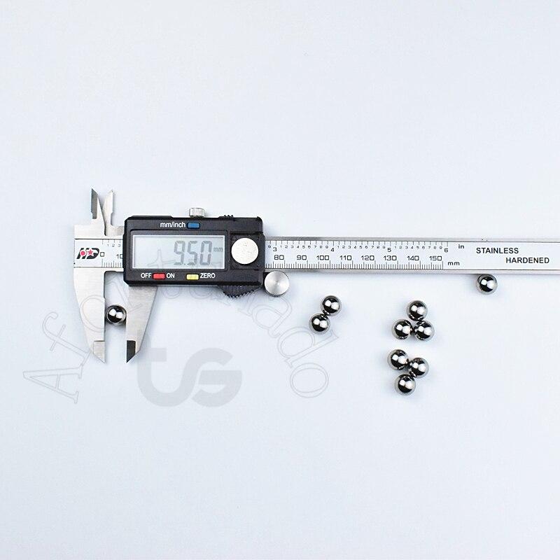 9,5 мм/0,3740157 (дюйм) 10 шт. хромированные стальные шарики подшипника Бесплатная доставка диаметр: 9,5 (мм) Точность: G10-Grade
