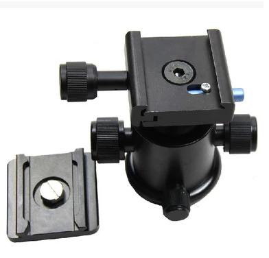 Tripod Ball Head with Quick Release Plate 1/4 3/8 Screw Adapter for DSLR Camera