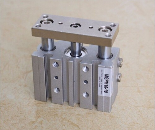 bore size 12mm*30mm stroke SMC Type Compact Guide Pneumatic Cylinder/Air Cylinder MGPM Series mgpm80 150 smc type 80mm bore 150mm stroke smc thin three axis cylinder with rod air cylinder pneumatic air tools mgpm series