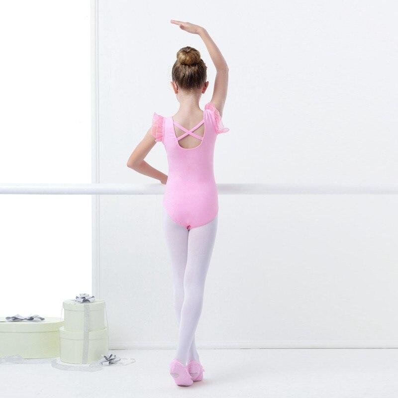 Girls Kids Camisole Ballet Dance Tutu Dress Skating Dance wear Leotard Bodysuit