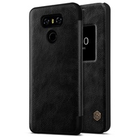 NILLKIN For Coque LG G6 Phone Cases Qin Series View Window Leather Smart Bag Case For