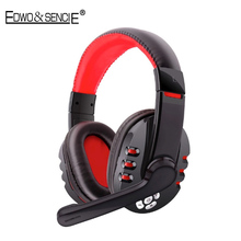 EDWO V8 Portable Bluetooth Wireless Gaming Headset With Mic Handsfree Stereo Music Sport Headphone For iPhone Samsung LG Sony PC
