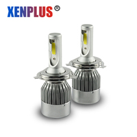2pcs H4 Led H7 Car Light Headlamp Front Fog Auto Light Bulb H1 H3 H11 H8