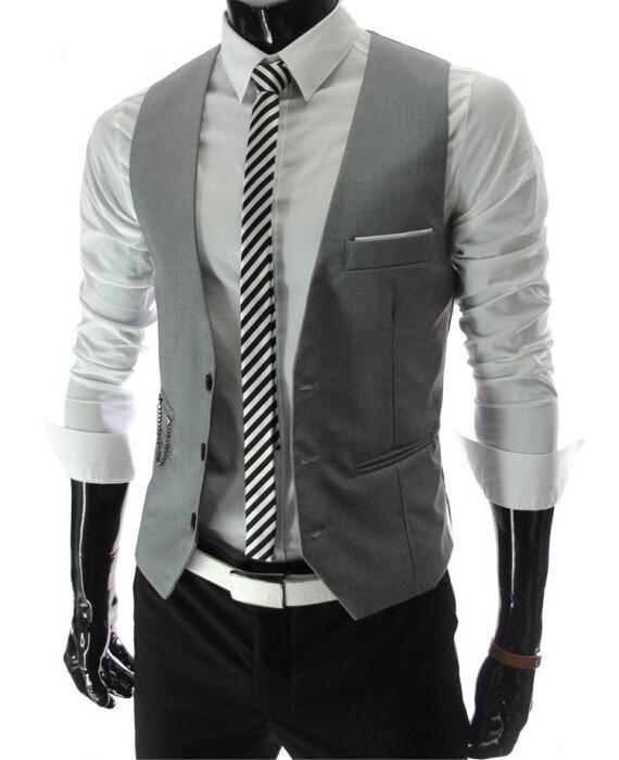 Le Jeune moderne.Printemps - Eté-Gilet pour hommes coupe ajustée sans manche-Gilet de garçon de café ou de tenue de soirée pour homme sans manche. Coupe ajustée.
