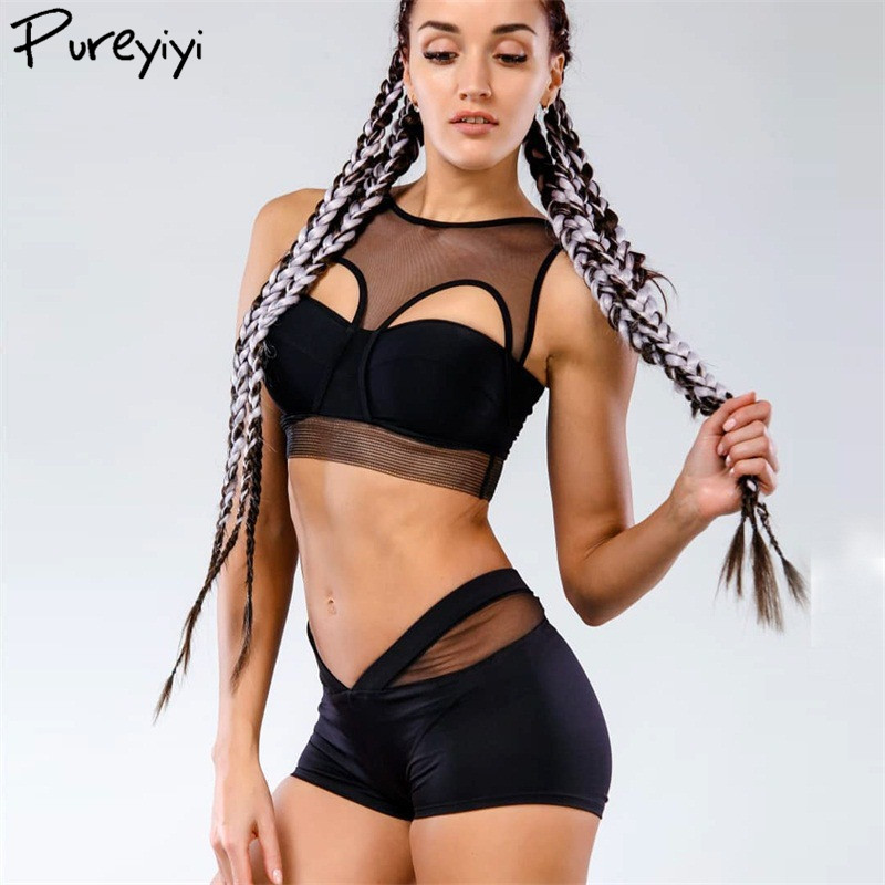 Horny Ladies Sports activities Clothes Mesh Patchwork Clear Crop High Girls Hole Out Black White Yoga High+Sport Shorts for Ladies Aliexpress, Aliexpress.com, On-line purchasing, Automotive, Telephones & Equipment, Computer...
