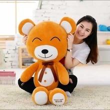 New plush animal toy Teddy bear Cute  fans eye bear for christmas Valentine's Day Birthday Gift