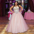 Rosa quinceanera vestidos sweet 16 dresses vestido de cristal 15 vestidos de 15 anos vestidos de quinceanera robe de bal vestido quinceanera