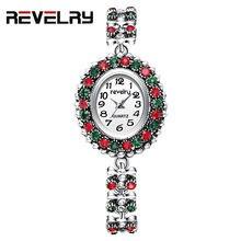 2019 г Женские кварцевые наручные часы с браслетом Стразы