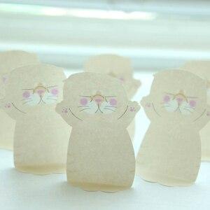 Image 5 - 32 unids/lote Bloc de notas adhesivas gato y veces marcador de animales lindos pegatinas de etiquetas de papelería escolar