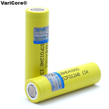 2pcs/lot VariCore Original For LG 18650 HE4 3.6V Rechargeable Battery 2500mAh 20A high drain HE4 Power battery cigarette tools