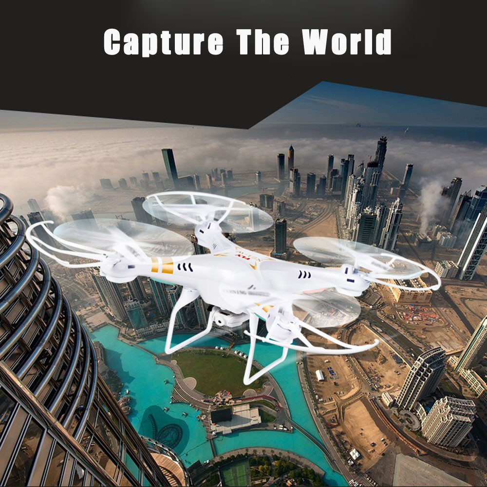 Hot Sale X51W 2.4G Altitude Hold HD Camera Quadcopter RC Drone 2MP WiFi FPV Drone Hover RC Quadcopter RTF RC Helicopter Toys gteng t908w diy wifi fpv 0 3mp pixels altitude hold rc quadcopter rtf 2 4ghz
