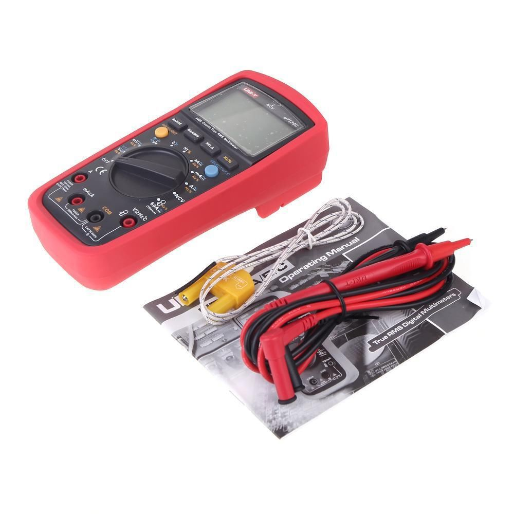 LCD Display UNI-T UT139C True RMS Electrical Digital Multimeters LCR Meter Handheld Tester Multimetro Ammeter Multitester uni t ut139c true rms digital multimeter handheld electrical lcr voltage current meter tester multimetro ammeter multitester