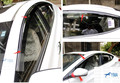 Novo Estilo! para Hyundai Avante Elantra Sedan 2011-2014 Viseiras Da Janela Toldos Viseira Deflector de Vento Chuva Ventilação Guarda 4 pçs/set