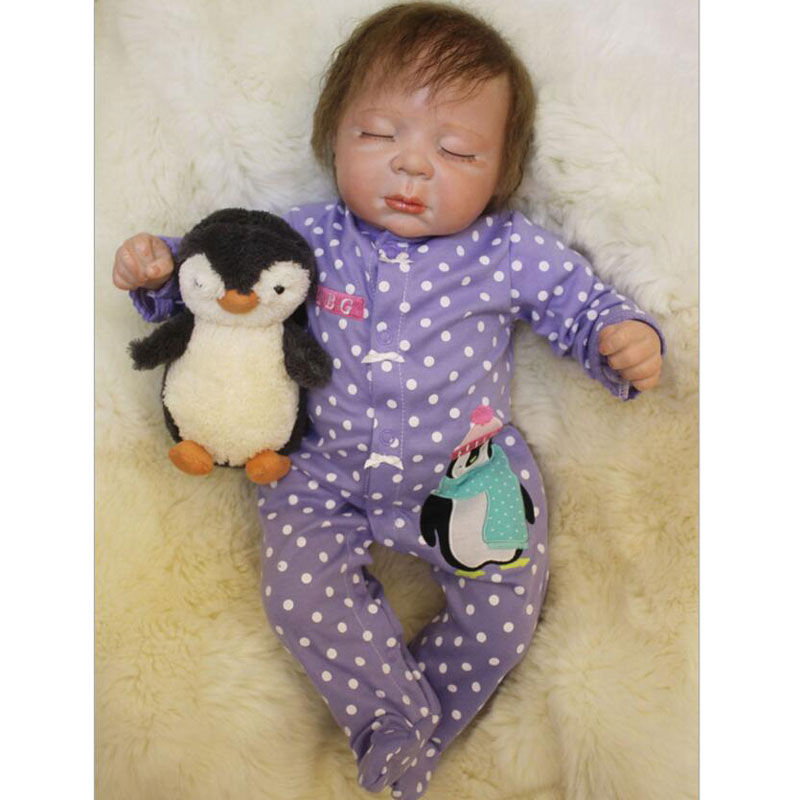 Lovely BeBe Reborn 20inch Soft Silicone Reborn Doll Toys 50cm Realistic Alive Kids Gift Babies Lifelike Newborn Baby Gift Toys бра artelamp a3902ap 1ab