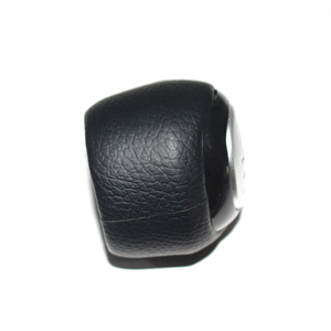 Image 3 - 5 and 6 Speed Car Shift Gear Knob Covered Real Leather For SAAB 9 3 2003 2004 2005 2006 2007 2008   2012