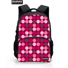 3D cute Heart shaped print women backpack heart school backpack for teenage girls large capacity student