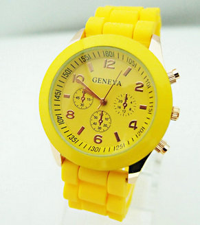 Hot Sales Genève Brand Silikone Kvinder Watch Ladies Fashion Dress - Dameure - Foto 5