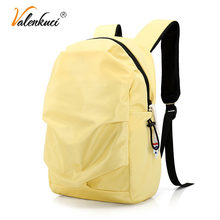 Valenkuci Fashion Women Travel Backpack Waterproof Nylon Anti-theft 14 Inch Laptop Backpack Men School Bags for Teenage Girls(China)