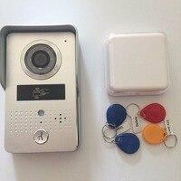 Контроль доступа на основе rfid ночного видения и motion функция обнаружения poe wifi видео домофон дверной звонок система управления с smartphone