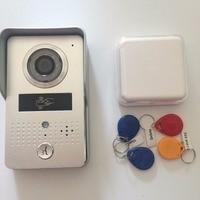 RFID Управление доступом Ночное видение Обнаружение движения POE WI FI Видеодомофоны Дверные звонки Системы смартфон Управление разблокировать
