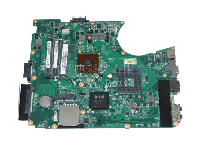 ФОТО A000078940 DA0BL8MB6B0 Main Board For Toshiba Satellite L655 L650 Laptop motherboard GL40 GMA HD DDR3