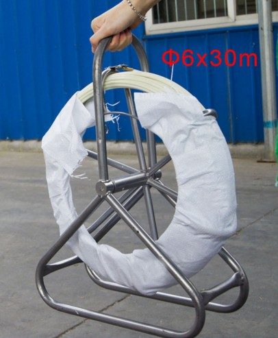 6*30M Electric Reel Wire Cable Running Rod Duct Rodder Fishtape Puller used for Telecom, Wall and Floor Conduit