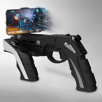 PG 9057 Game Controller Black Precision Shooting Gun For PS3 MOVE Motion Controller For Sony PS3