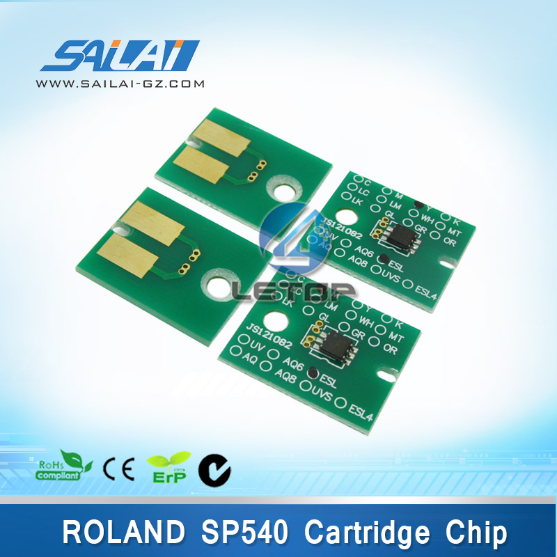Hot sales!! Roland sp540 cartridge chips (CMYK/set) цена