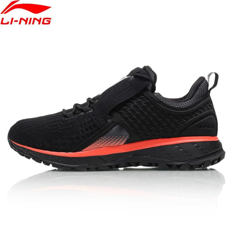 Li-Ning/Мужская обувь для бега на подушке LN CLOUD SHIELD 2018, спортивная обувь с подкладкой из дышащей пряжи ARHN085 XYP812