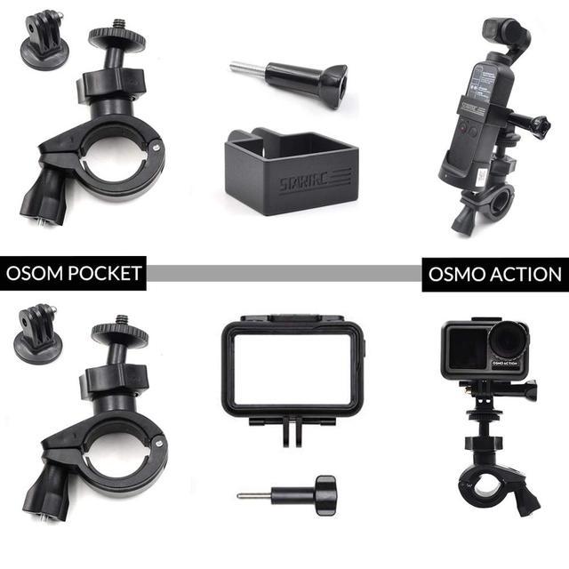 STARTRC OSMO Pocket Bicycle Mount Holder Automobiles & Motorcycles Unisex Type: Single Handgrip
