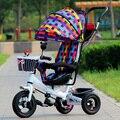 Пневматические надувные колеса трехколесного велосипеда колеса коляски ребенка велосипед езды на автомобили дети дети открытый хохма спорт 3 в 1 бренд