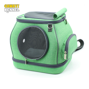CAWAYI KENNEL Backpacks Safety Basket Carriers