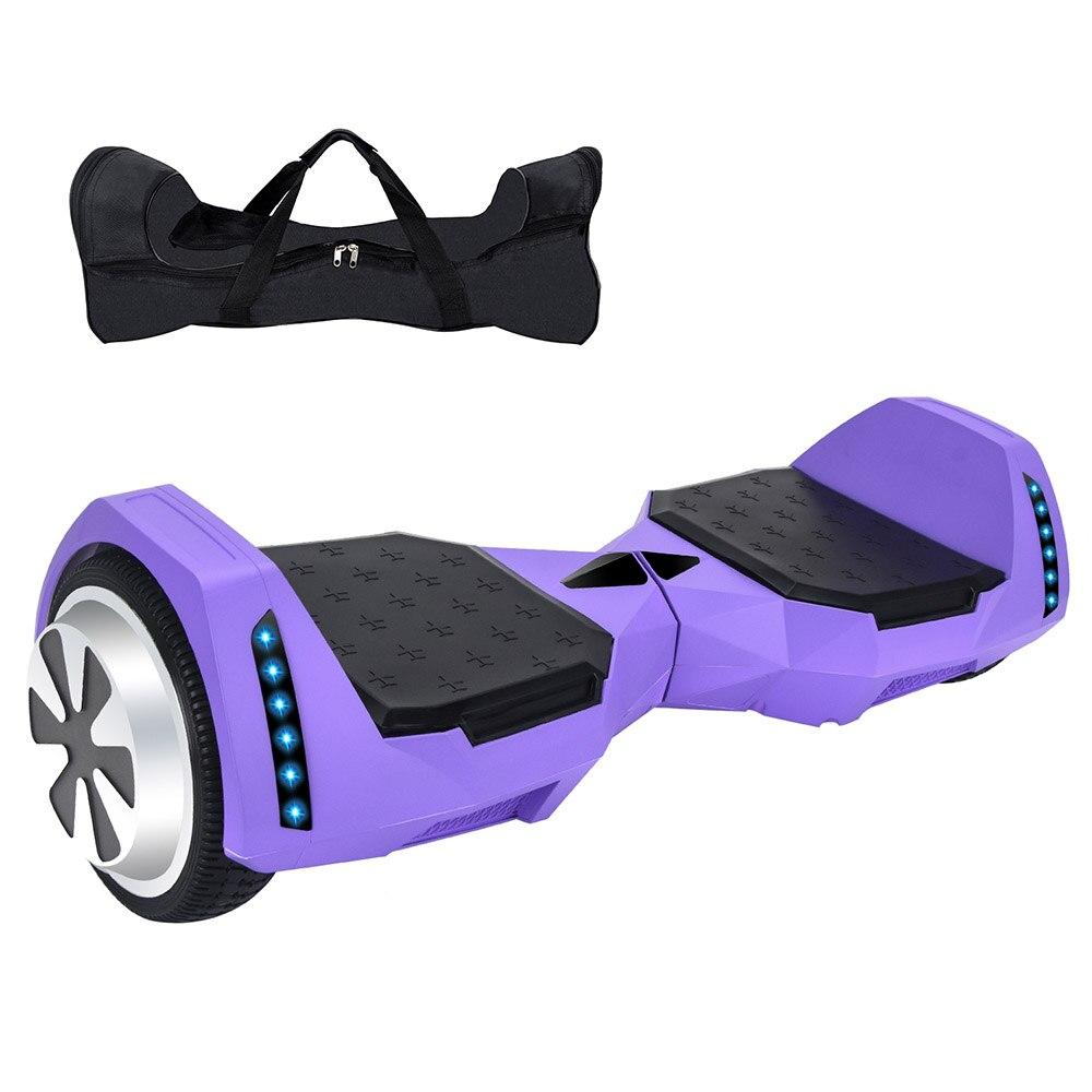 Электрический скейтборд 10 дюймов скутер двухколесный Smart балансировочный гироскутер с светодиодный Bluetooth Динамик удаленный контроль и сум... - 2