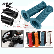 9 colors available scooter hand grip motorcycle accessories motorbike handlebar for hoanda suzuki yamaha soft rubber moto
