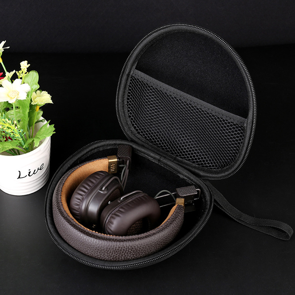2019 Newest Headphone Case Cover Bag for <font><b>Sony</b></font> <font><b>MDR</b></font>-<font><b>100ABN</b></font> AAP 600A WH-H800 H900N for Major 1 2 Headset Carry Portable Hard Box image