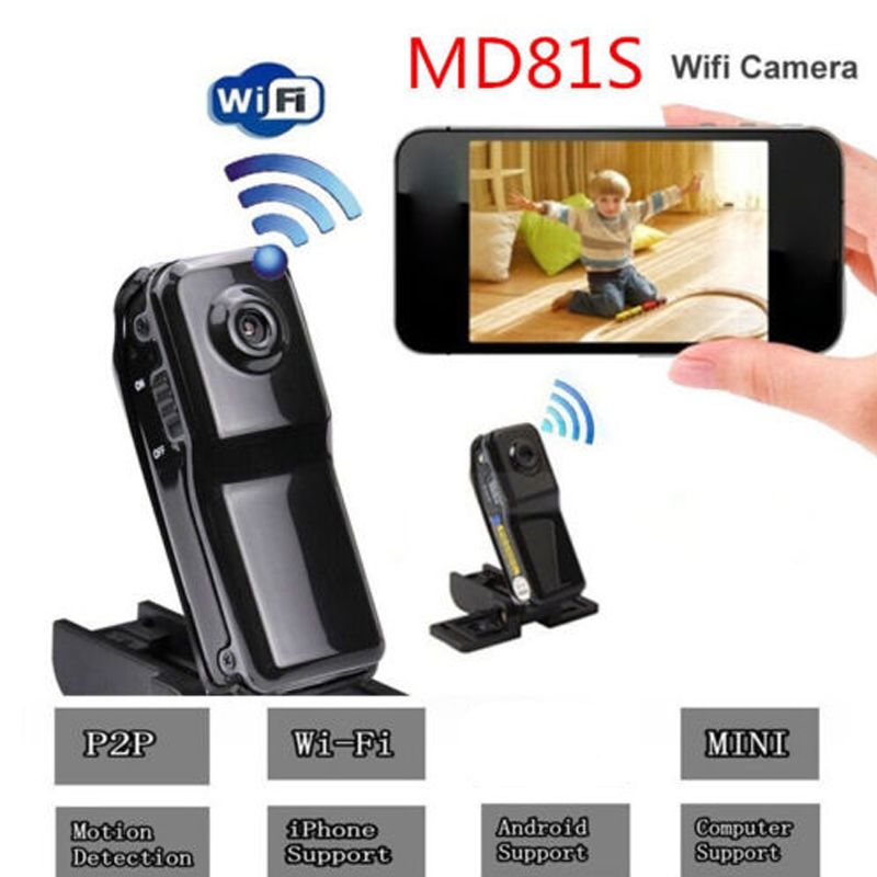 MD81 MD81S P2P Mini Wifi Camera Motion Detection DVR Camcorder Sport Video Recorder IP Cam for Windows iOS Android System