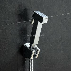 Image 1 - High Quality Wall mouted Toilet Brass Bidet Spray Shattaf Shower Kit Sprayer Jet with Shut off Valve