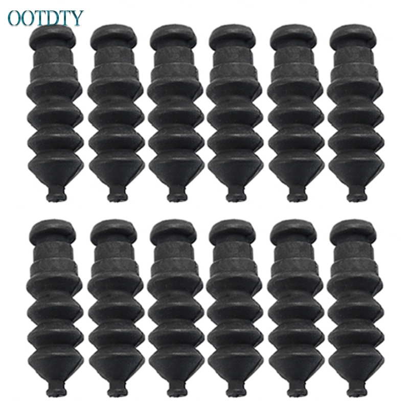 1set/12pcs Waterproof Push Rod Rubber Seal Bellow Normal Size  37mm For RC Boat #046