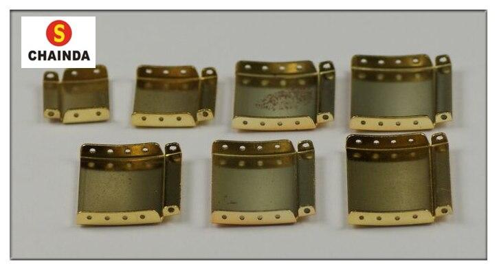 Darmowa wysyłka 50 sztuk pasek zegarka bransoletka Extender złoty/srebrny przedłużyć pasy zespoły zapięcie przedłużenie Link do naprawy zegarka w Narzędzia i zestawy do naprawy od Zegarki na  Grupa 2