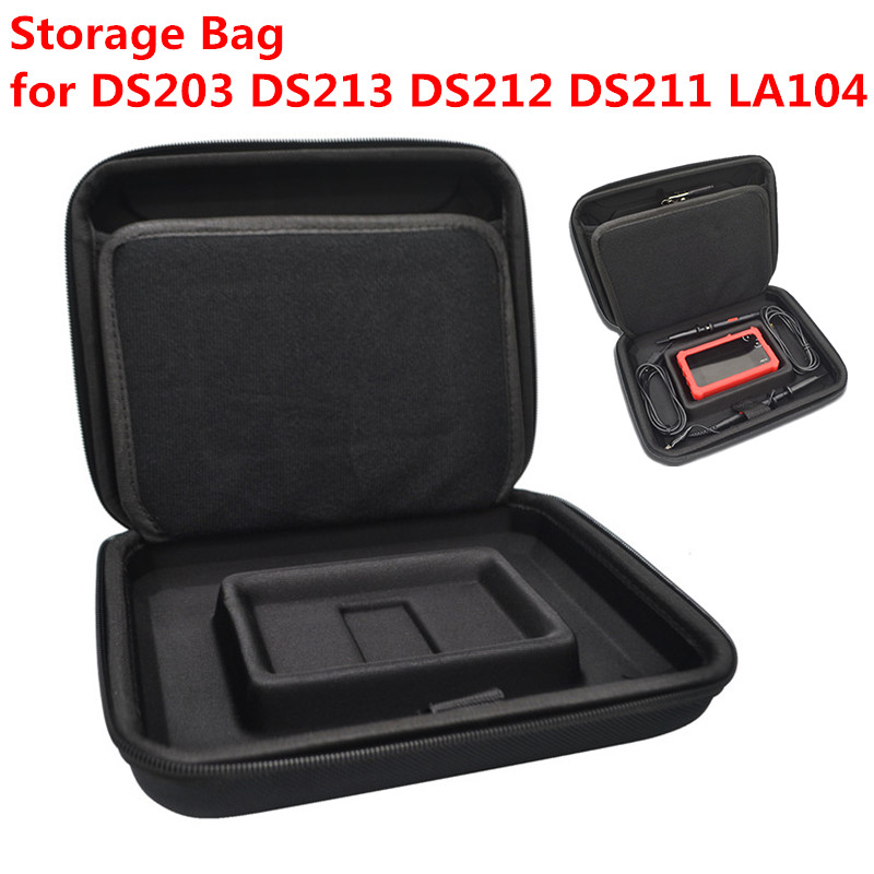 Storage Bag Protective Case Cover for <font><b>MINI</b></font> Nano DSO213 DS213 <font><b>DS203</b></font> DS211 DS212 LA104 Digital <font><b>Oscilloscope</b></font> DS 213 212 Portable image